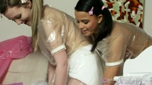 Naughty Wet White Nappies 1